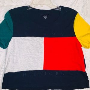 Tommy crop top